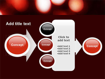 Red Lights PowerPoint Template Slide 17