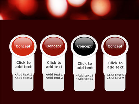 Red Lights PowerPoint Template Slide 5