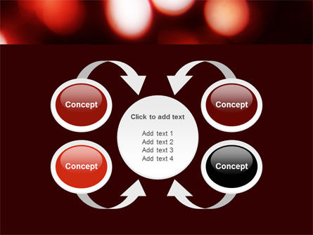 Red Lights PowerPoint Template Slide 6