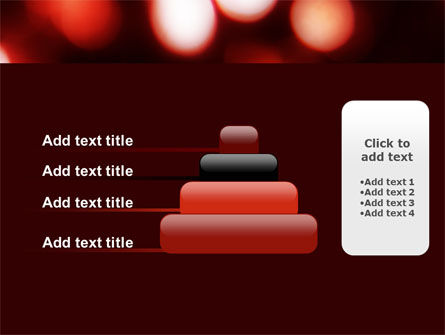 Red Lights PowerPoint Template Slide 8