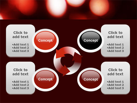 Red Lights PowerPoint Template Slide 9