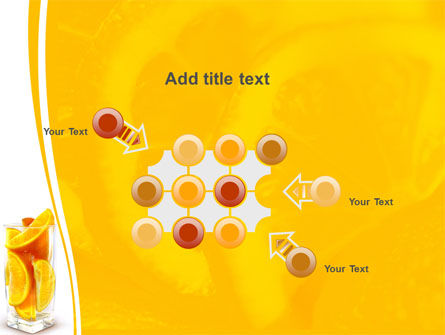 Glass Of Orange Slices PowerPoint Template Slide 10