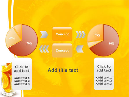 Glass Of Orange Slices PowerPoint Template Slide 16