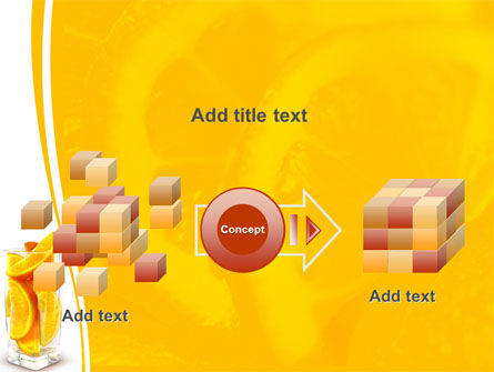 Glass Of Orange Slices PowerPoint Template Slide 17