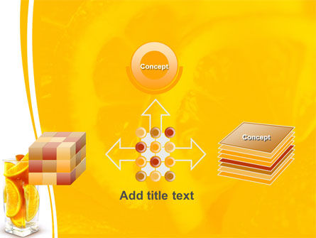 Glass Of Orange Slices PowerPoint Template Slide 19