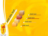 Glass Of Orange Slices PowerPoint Template#14
