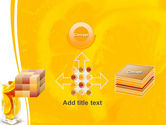 Glass Of Orange Slices PowerPoint Template#19