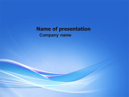 Abstract/Textures: Neutral Blue PowerPoint Template #05611