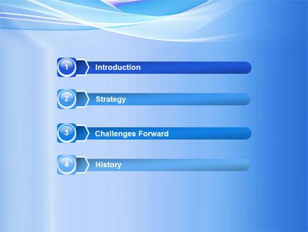 Neutral Blue PowerPoint Template, Slide 3, 05611, Abstract/Textures — PoweredTemplate.com