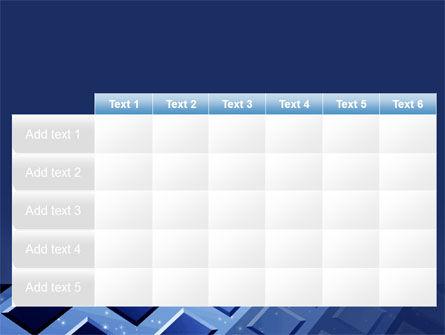 Blue Lattice PowerPoint Template Slide 15