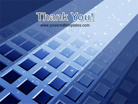 Blue Lattice PowerPoint Template Slide 20