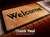 Welcome Carpet PowerPoint Template#20