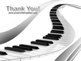 Piano PowerPoint Template#20
