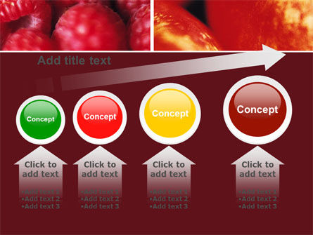 Fresh Fruits PowerPoint Template Slide 13