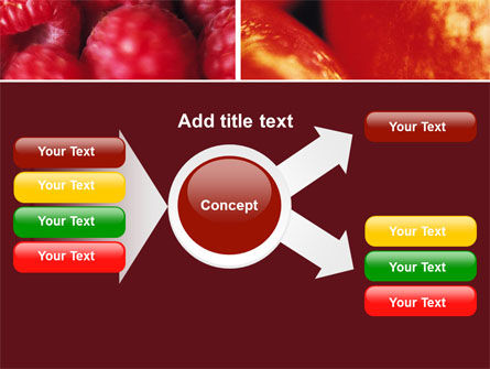 Fresh Fruits PowerPoint Template Slide 14