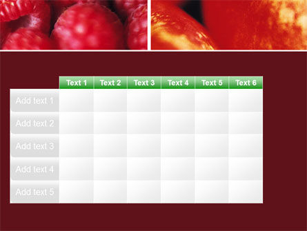 Fresh Fruits PowerPoint Template Slide 15