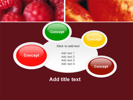 Fresh Fruits PowerPoint Template Slide 16