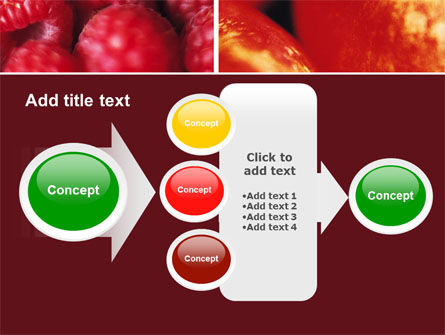 Fresh Fruits PowerPoint Template Slide 17