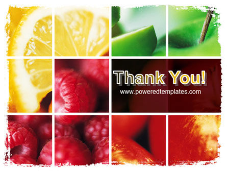 Fresh Fruits PowerPoint Template Slide 20
