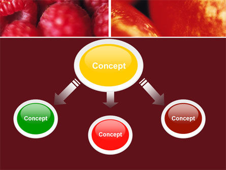 Fresh Fruits PowerPoint Template, Slide 4, 05617, Agriculture — PoweredTemplate.com