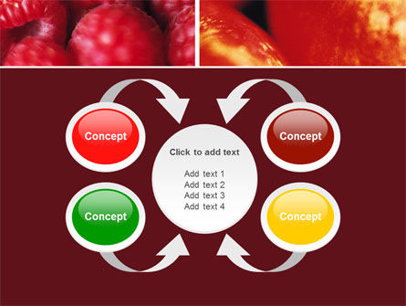 Fresh Fruits PowerPoint Template Slide 6