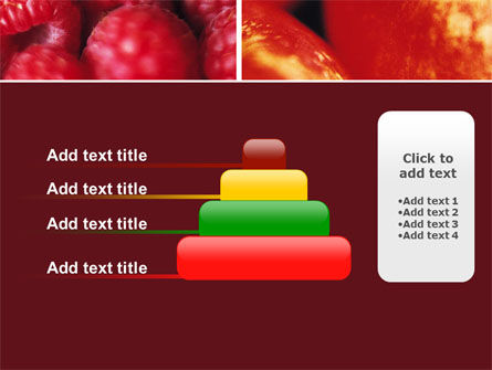 Fresh Fruits PowerPoint Template Slide 8