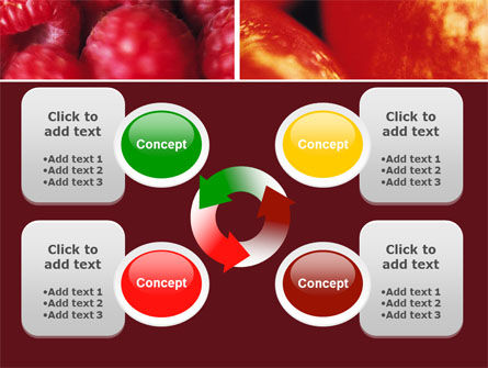 Fresh Fruits PowerPoint Template Slide 9