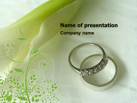 Engagement PowerPoint Template, 05619, Holiday/Special Occasion — PoweredTemplate.com