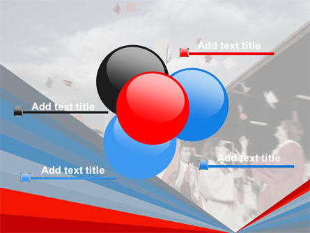 Graduation In Red Blue Colors PowerPoint Template Slide 10