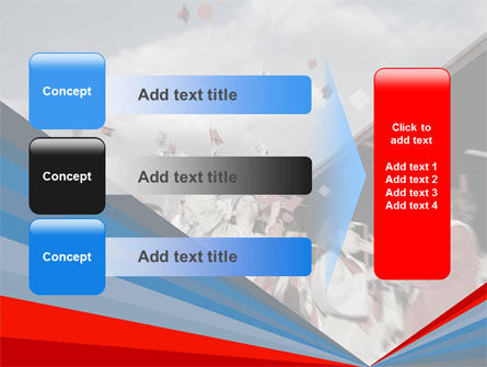 Graduation In Red Blue Colors PowerPoint Template Slide 12