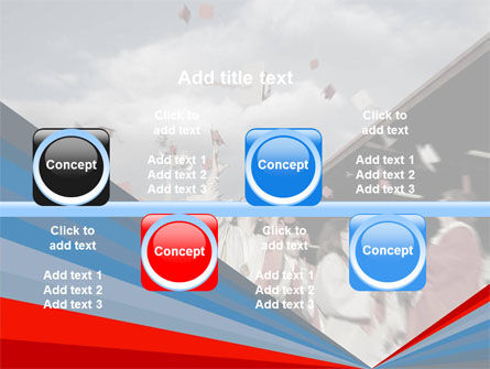 Graduation In Red Blue Colors PowerPoint Template Slide 19