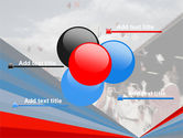 Graduation In Red Blue Colors PowerPoint Template#10
