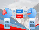 Graduation In Red Blue Colors PowerPoint Template#11