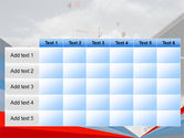 Graduation In Red Blue Colors PowerPoint Template#15