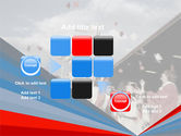 Graduation In Red Blue Colors PowerPoint Template#16
