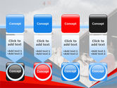 Graduation In Red Blue Colors PowerPoint Template#18