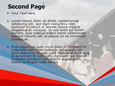 Graduation In Red Blue Colors PowerPoint Template#2