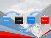 Graduation In Red Blue Colors PowerPoint Template#4