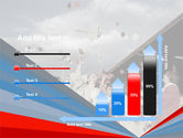 Graduation In Red Blue Colors PowerPoint Template#8