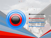 Graduation In Red Blue Colors PowerPoint Template#9