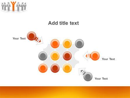 Orange Winner PowerPoint Template Slide 10