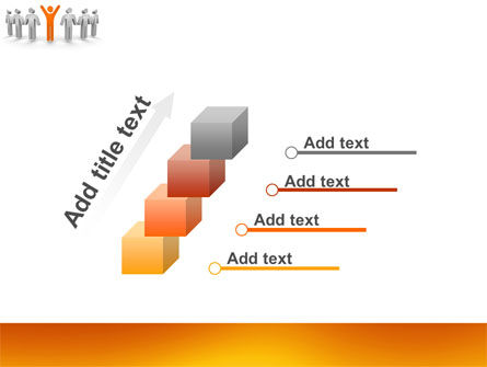 Orange Winner PowerPoint Template Slide 14