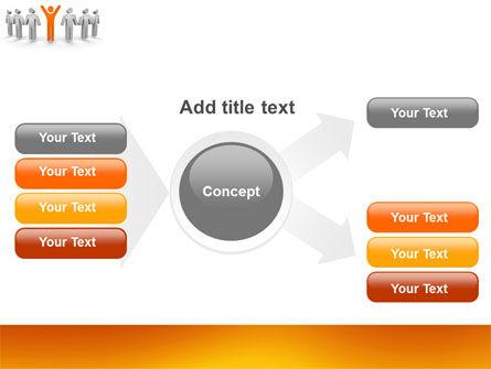 Orange Winner PowerPoint Template Slide 15