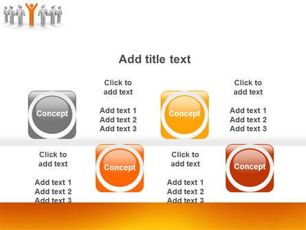 Orange Winner PowerPoint Template Slide 18