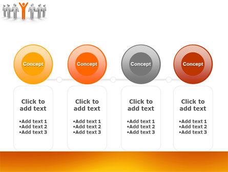 Orange Winner PowerPoint Template Slide 5