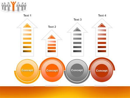 Orange Winner PowerPoint Template Slide 7