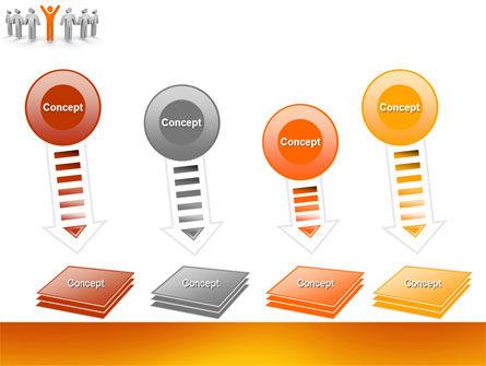 Orange Winner PowerPoint Template Slide 8