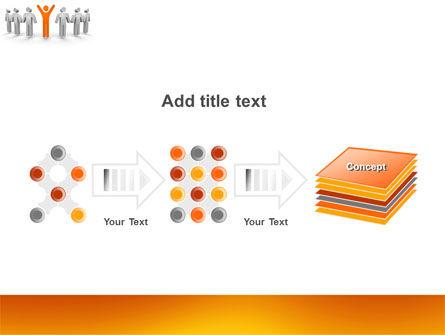 Orange Winner PowerPoint Template Slide 9