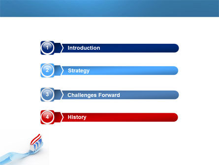 Toothpaste PowerPoint Template Slide 3