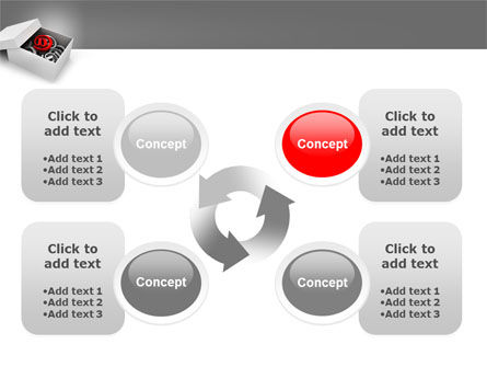 Email Shipping PowerPoint Template Slide 9